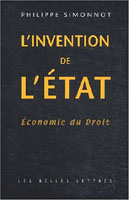 L'Invention de l'état : Economie du droit book image